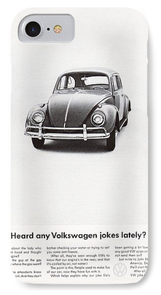 Heard Any Good Volkswagen Jokes Lately IPhone Case by Georgia Fowler