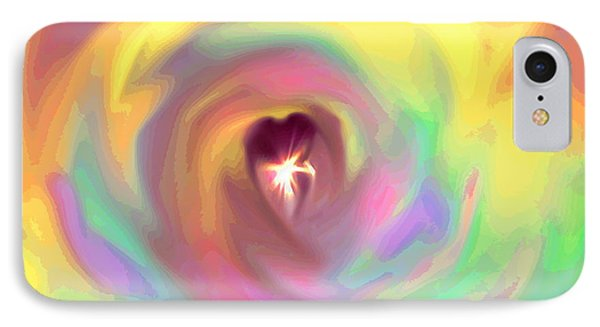 Heart Abstract Phone Case by Marianna Mills