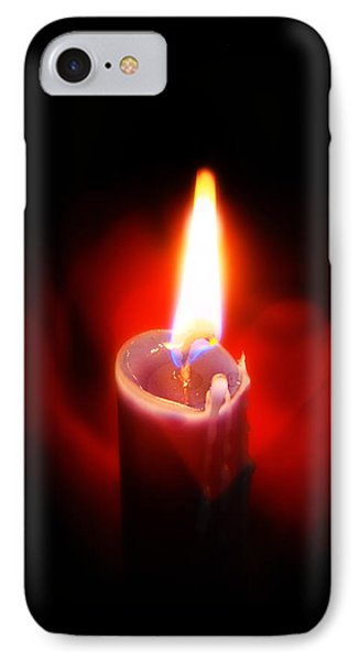 Heart Aflame IPhone Case by Sennie Pierson