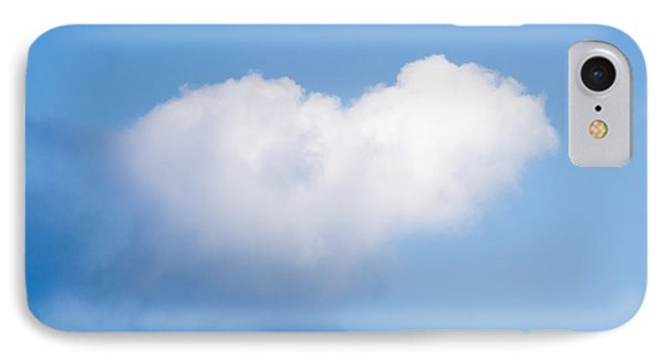 Heart Cloud Phone Case by Shirley Tinkham