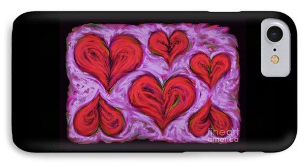 Heart Drift IPhone Case