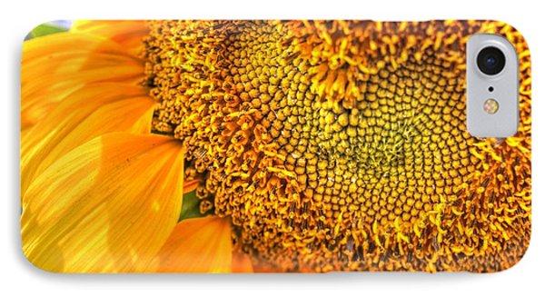 Heart-felt Sunflower IPhone Case