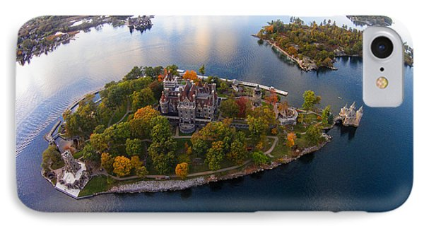 Heart Island George Boldt Castle IPhone Case by Tony Cooper