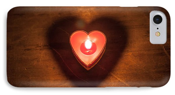 Heart Light IPhone Case by Aaron Aldrich