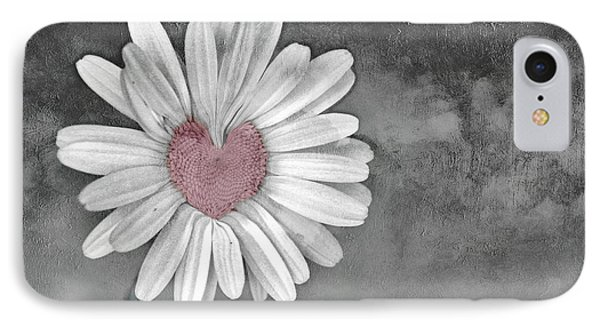 Heart Of A Daisy IPhone Case