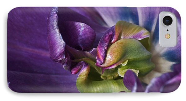 Heart Of A Purple Tulip IPhone 7 Case