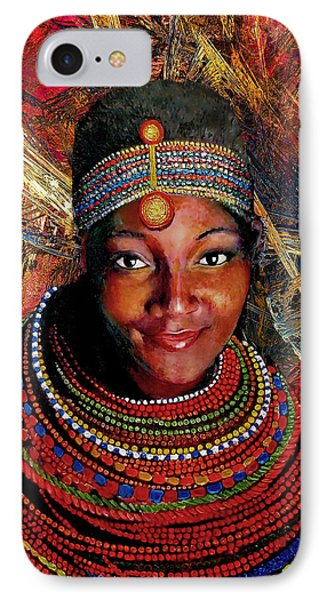Heart Of Africa Phone Case by Michael Durst