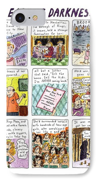 Heart Of Darkness IPhone Case by Roz Chast