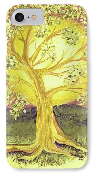 Heart Of Gold Tree By Jrr IPhone Case by First Star Art