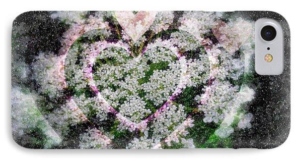 Heart Of Hearts Phone Case by Kay Novy