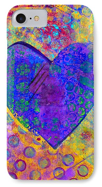 Heart Of Hearts Series - Compassion Phone Case by Moon Stumpp