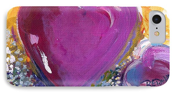 Heart Of Love IPhone Case by Bernadette Krupa