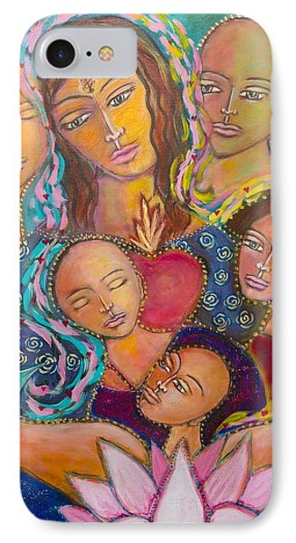 Heart Of The Family Phone Case by Havi Mandell