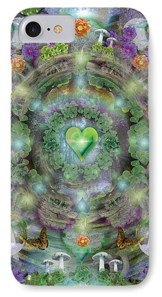 Heart Of The Forest Phone Case by Alixandra Mullins