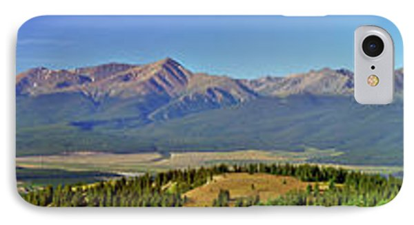 Heart Of The Sawatch Panoramic IPhone Case by Jeremy Rhoades