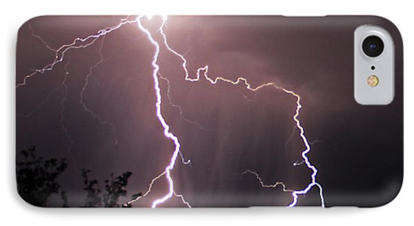 Heart Of The Storm IPhone Case by Gary Kaylor