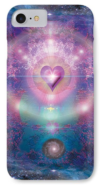 Heart Of The Universe Phone Case by Alixandra Mullins