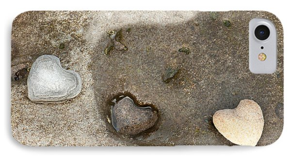 Heart Rock Love Phone Case by Artist and Photographer Laura Wrede