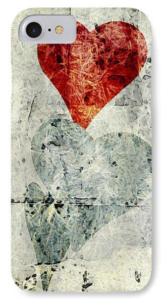 Hearts 1 Phone Case by Edward Fielding