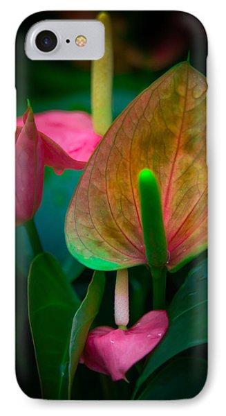 Hearts Of Joy IPhone Case by Karen Wiles