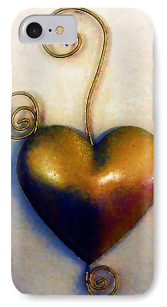 Heartswirls IPhone Case by RC deWinter
