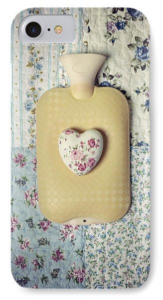 Hearty Hot-water Bottle Phone Case by Joana Kruse