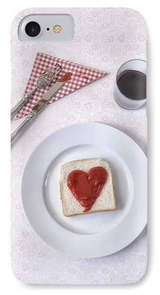 Hearty Toast Phone Case by Joana Kruse