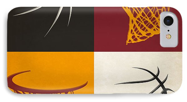 Heat Ball And Hoop IPhone Case
