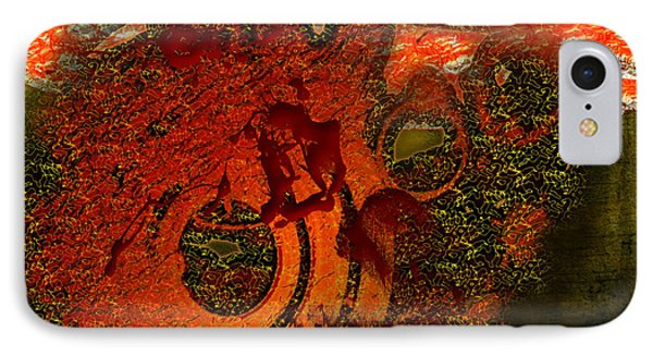 IPhone Case featuring the digital art Heat Of Battle by Clayton Bruster