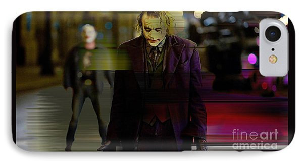 Heath Ledger IPhone Case by Marvin Blaine