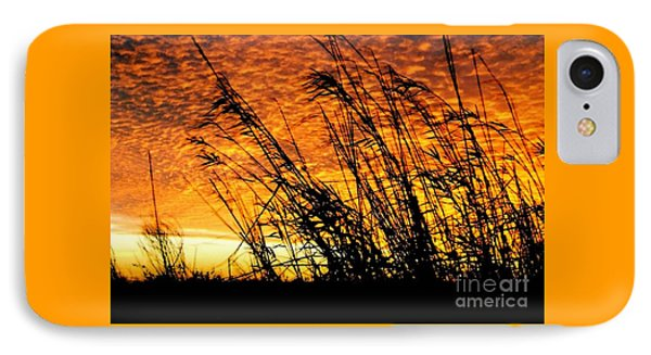 Sunset Heaven And Hell In Beaumont Texas IPhone Case by Michael Hoard