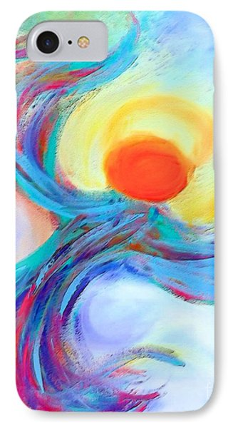 Heaven Sent Digital Art Painting IPhone Case by Robyn King
