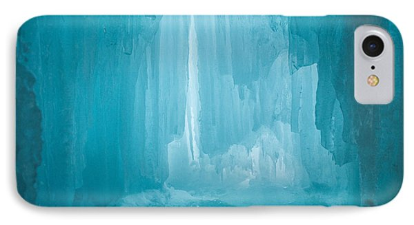Heavenly Blue IPhone Case by Jill Laudenslager