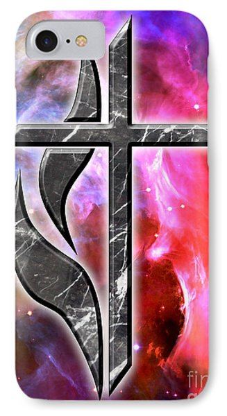 Heavenly Cross IPhone Case by Phill Petrovic