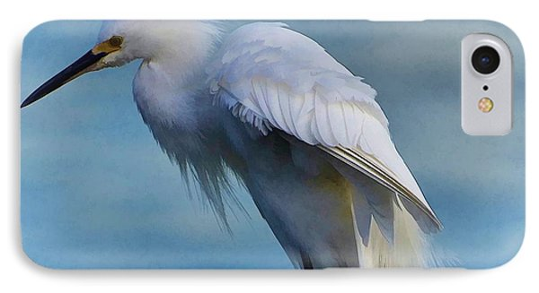 Heavenly Egret IPhone Case