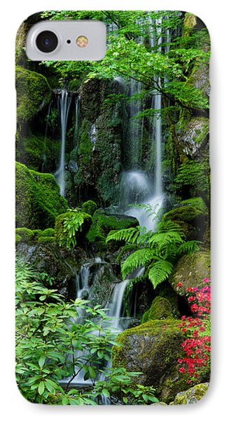 Heavenly Falls Serenity IPhone Case by Don Schwartz