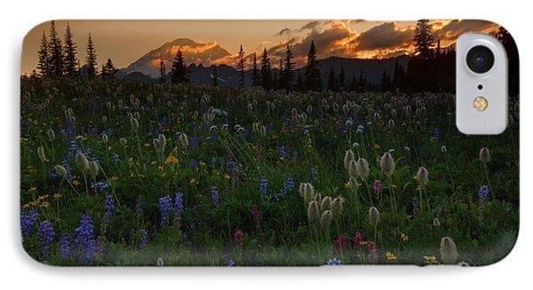 Heavenly Garden Phone Case by Mike  Dawson