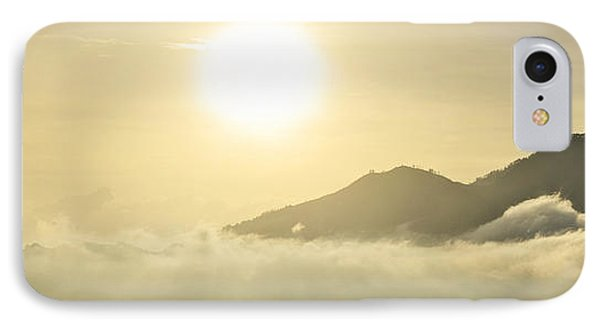 IPhone Case featuring the photograph Heavenly Peaks by Sebastien Coursol