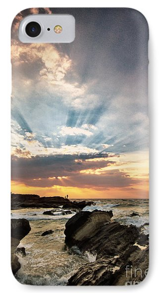 IPhone Case featuring the photograph Heavenly Skies by John Swartz