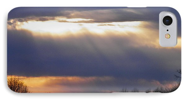 Heavenly Sunset IPhone Case by Nick Kirby