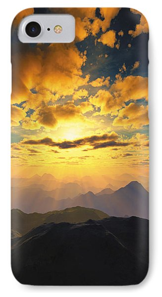 Heaven's Breath 27 IPhone Case by The Art of Marsha Charlebois