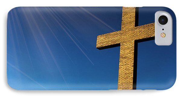 Heaven's Cross IPhone Case by Michael Waters