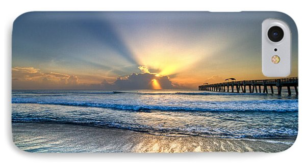Heaven's Door IPhone Case by Debra and Dave Vanderlaan