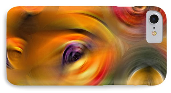 Heaven's Eyes - Abstract Art By Sharon Cummings IPhone Case
