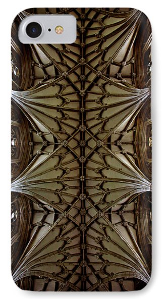 Heavenward -- Winchester Cathedral Ceiling Phone Case by Stephen Stookey
