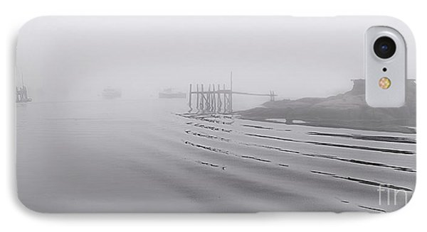Heavy Fog And Gentle Ripples IPhone Case by Marty Saccone