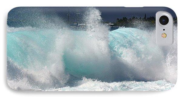 Heavy Surf IPhone Case by Lori Seaman