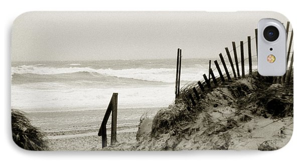 IPhone Case featuring the photograph Heavy Weather by Michael Helfen