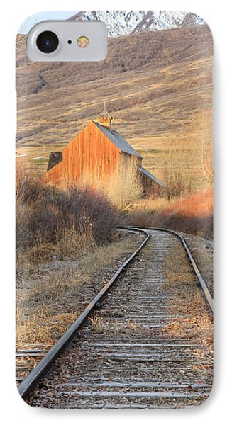 Heber Valley Railroad IPhone Case by Johnny Adolphson