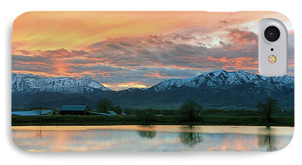Heber Valley Sunset IPhone Case by Johnny Adolphson